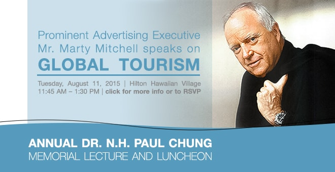 Annual Dr. N.H. Paul Chung Memorial Lecture and Luncheon